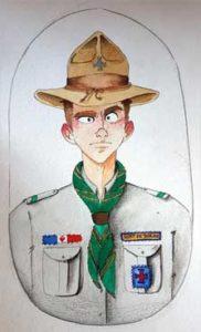 L'uniforme Scouts de Doran
